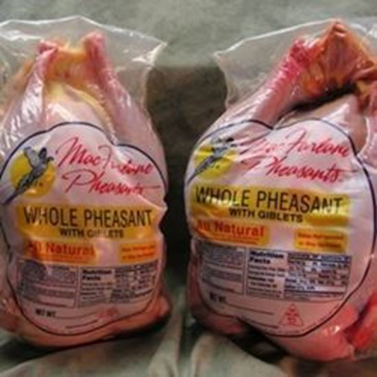 Picture of 2 Whole Dressed Pheasants (3.5-4 lbs each)